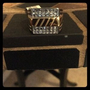 Other - Men's two tone ring